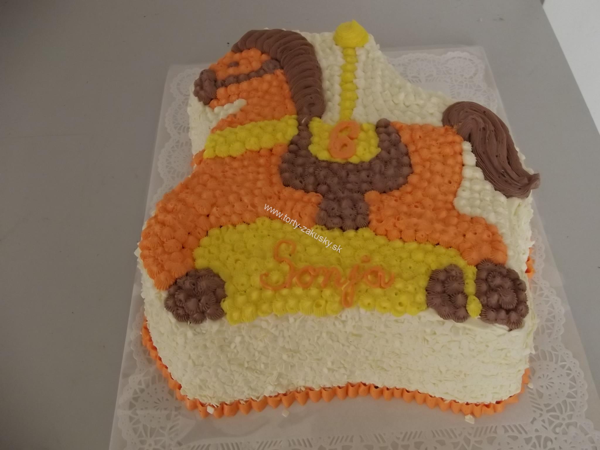 Detská torta KONÍK