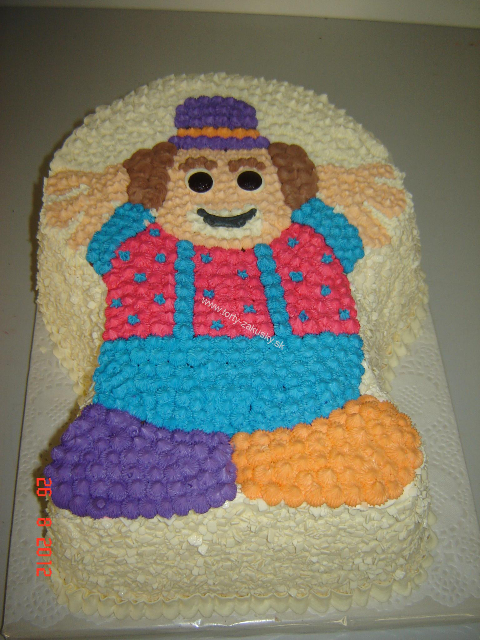 Detská torta šaško